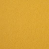 "Wool and Viscose Mix Felt 12"" Square Yellow"