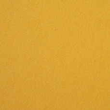 "Wool and Viscose Mix Felt 12"" Square Yellow"