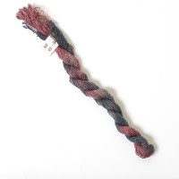 Hand Dyed Spun Silk with Flames Thread-03