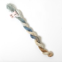 Hand Dyed Spun Silk with Flames Thread-27