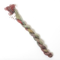 Hand Dyed Spun Silk with Flames Thread-29