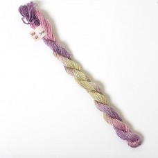 Hand Dyed Spun Silk with Flames Thread-36