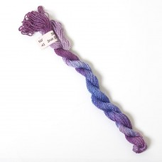Hand Dyed Spun Silk with Flames Thread-43