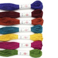 Sublime 100% Egyptian Cotton Embroidery Thread colour pack- Laurel Canyon