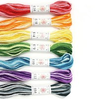 Sublime 100% Egyptian Cotton Embroidery Thread colour pack- Taffy Pull