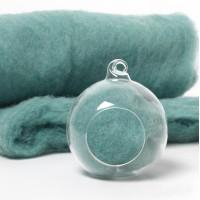 Carded Scandinavian wool 10 Grams -Blue Moon 17