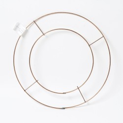 Wire Floristry Wreath 10""