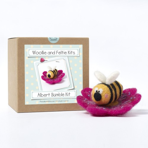 Albert Bumble needle felting kit