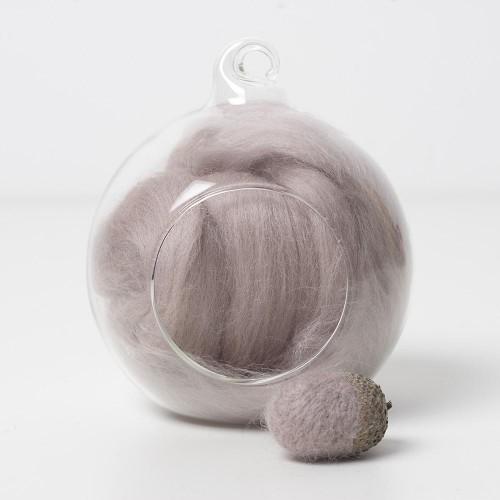 Merino neutral 06 wool top 10g