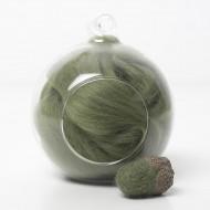 Superfine Merino Olive Green SF53 Wool Top 10g