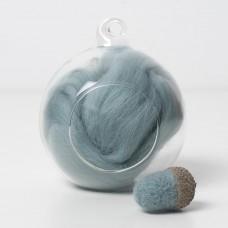 Merino green 61 wool top 10g