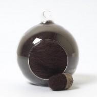Merino neutral brown 81 wool top 10g