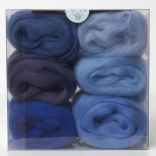 Merino Wool Shade Pack-Blues