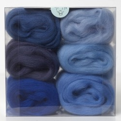 Merino Wool Shade Pack-Blues