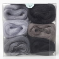 Merino Wool Shade Pack-Greys