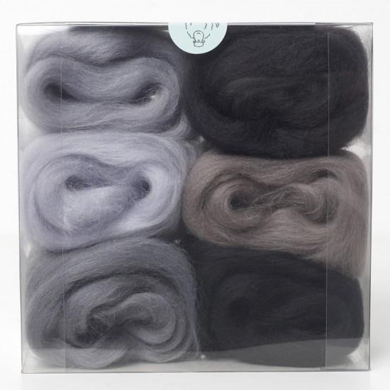 Merino Wool Shade Pack-Greys