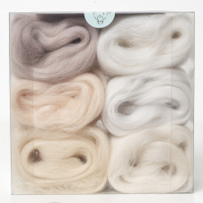Merino Wool Shade Pack-Pales