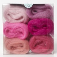 Merino Wool Shade Pack-Pinks