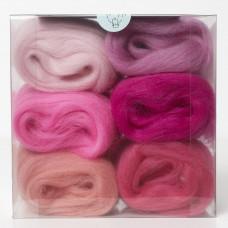 Merino Wool Shade Pack-Pinks
