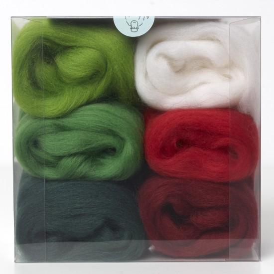 Merino Wool Shade Pack-Christmas