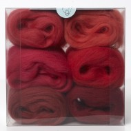Merino Wool Shade Pack-Reds