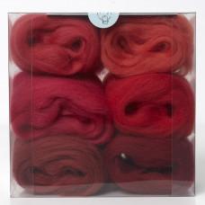 Merino Wool Shade Pack-Reds