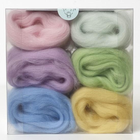 Merino Wool Shade Pack-Pastels
