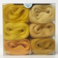 Merino Wool Shade Pack-Yellows