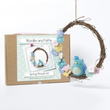 Spring Wreath needle felting kit