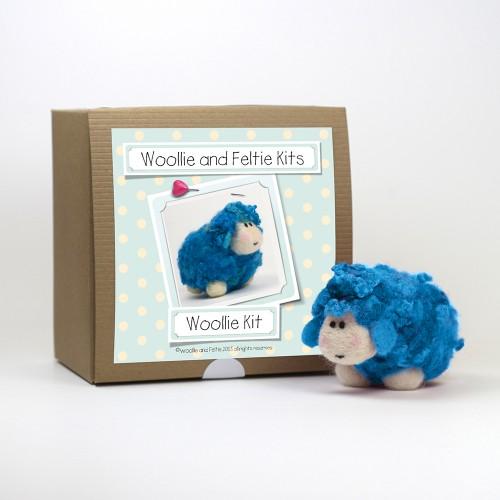 Woollie needle felting kit