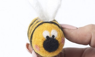 How to Needle Felt a Bee