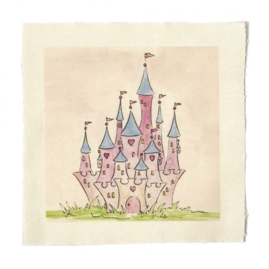 Illustrations on Calico-Princess Fairy Castle