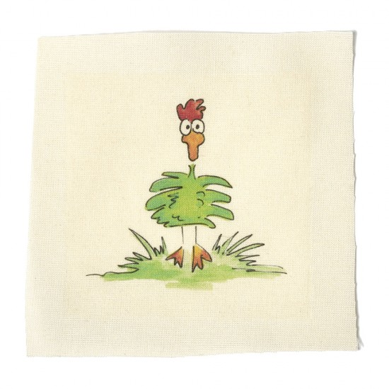 Illustrations on Calico-Mad as a Chicken