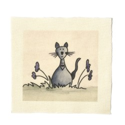 Illustrations on Calico-Hector Cat