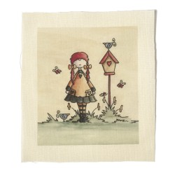 Illustrations on Calico-Lizzy