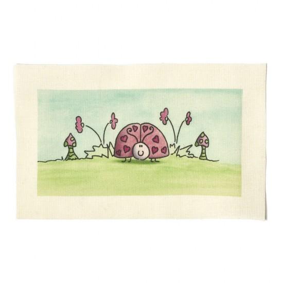 Illustrations on Calico-Ladybird