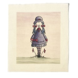 Illustrations on Calico-Lindy