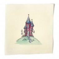 Illustrations on Calico-Fleurs Castle