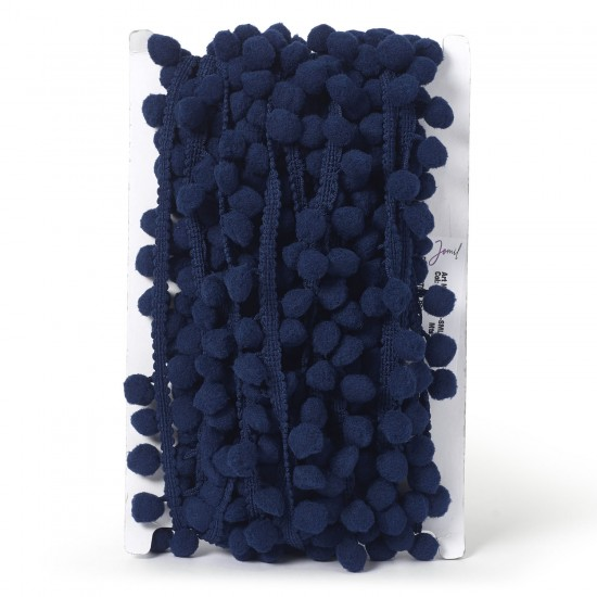 Pom-Pom Trimming 20mm-Navy Blue- available by the meter