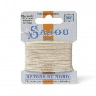 Sajou Retors Du Nord Cotton Embroidery Thread-2000 Cream