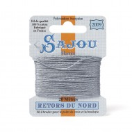 Sajou Retors Du Nord Cotton Embroidery Thread-2009 Grey