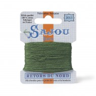 Sajou Retors Du Nord Cotton Embroidery Thread-2013 Green