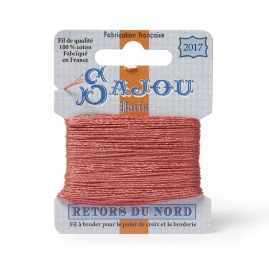Sajou Retors Du Nord Cotton Embroidery Thread-2017 Peach