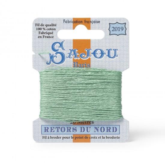 Sajou Retors Du Nord Cotton Embroidery Thread-2019 Green