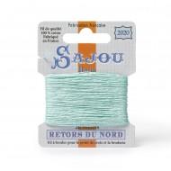 Sajou Retors Du Nord Cotton Embroidery Thread-2020 Aqua