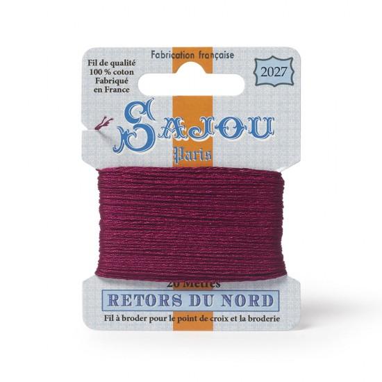 Sajou Retors Du Nord Cotton Embroidery Thread-2027 Pink