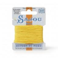Sajou Retors Du Nord Cotton Embroidery Thread-2039-Yellow