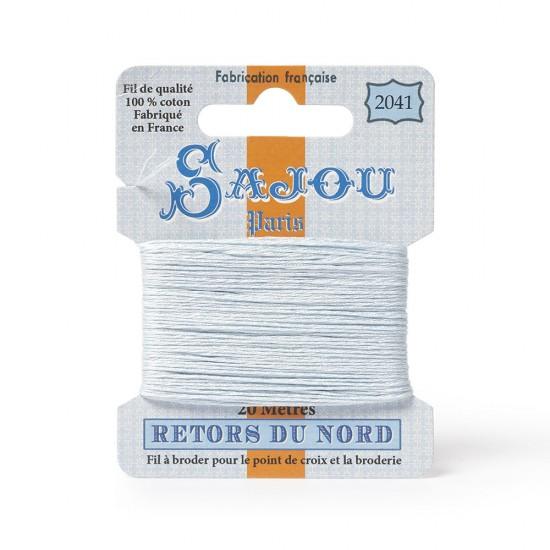 Sajou Retors Du Nord Cotton Embroidery Thread-2041 Blue