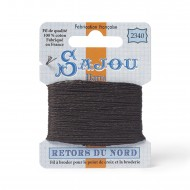 Sajou Retors Du Nord Cotton Embroidery Thread-2340-Brown