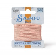 Sajou Retors Du Nord Cotton Embroidery Thread-2479 peach